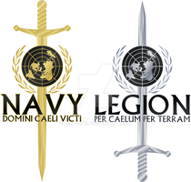 U.E. Forces - Service Emblems by Leovinas