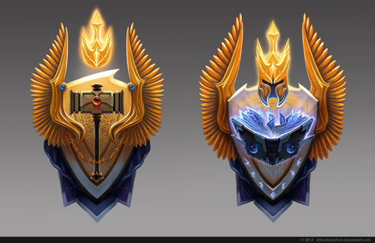 Paladin coat of arms by OtherDistortion