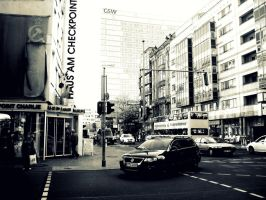 Checkpoint Charlie by Lightningbutterflies