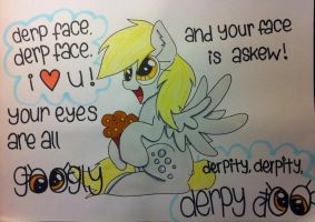 Derp Face, Derp Face, I Love You! by anonymousnekodos