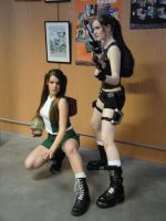 young Lara Croft and head by LiliDin