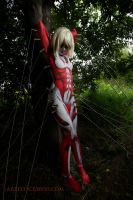 Annie Leonhardt- the Female Titan 10 by shelle-chii