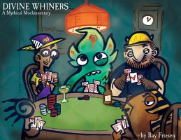 Gods Playing Poker by raisegrate