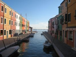 Murano, looking out to sea by coginamachine