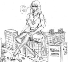 giantess new soes by ipanick