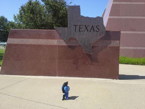 I think he might like Texas by MegaBoltHQ