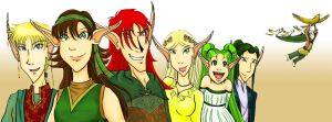Ears for Elves- Meet the Cast by NaarieKermie