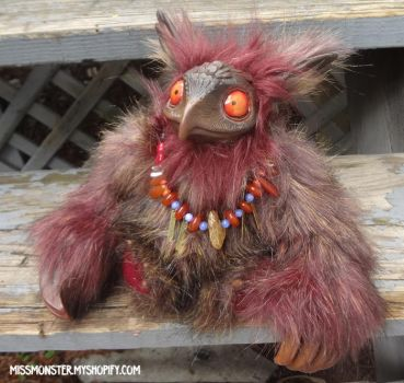 Boothby Potoo4 by missmonster