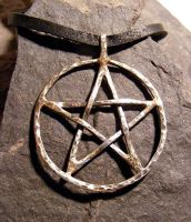 Pentacle Necklace by MoonLitCreations
