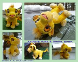 Anipets Purr And Growl Simba by DoloAndElectrik