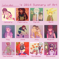 2014 by cactuscakes