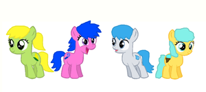 Foal Adoptables 1 by PerkyPitch