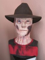Freddy Krueger bust by Lord-Stark