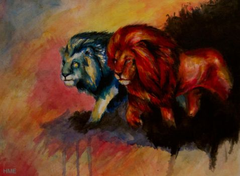WIP: Lions~ by Gravom