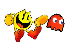 Pac-Man SIDE-SMASH!! by Mchaosg