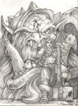Giant and Dwarf - GiantSlayers II by SamwiseDidier