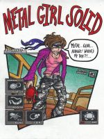 Metal Girl Solid by Jagarnot
