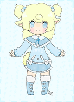 Sheep Kemonomimi Custom Adopt for MintoRin by SunflowerDragon