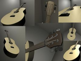 3D guitar by andy15140