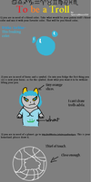 To be a troll meme. by Fwuffywolf