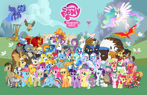 v2 - 1280 no text or border by PonyComicConPoster