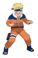 NFB2 | naruto Idle animation by DjamOrqua