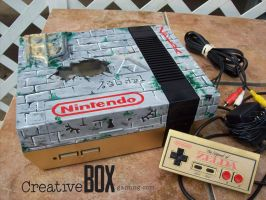 Zelda Custom NES Console by CreativeBoxGaming
