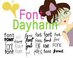 Fonts Favoritos Dayhann♥ by DayHannisz-Editionsz