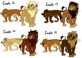Breeables 12, 13, 14, 15 CLOSED by MikacesAdopts