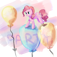 Pinkie Pie by moondapple