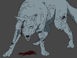 Wounded by WhiteWolfCrisis13