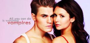 Nina Dobrev and Paul Wesley Signature by McOlussska
