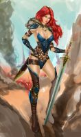 red sonja by Mo75s