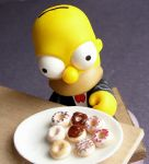 Homer's Doughnuts by fairchildart