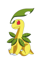 .:Grass Collab-Bayleef:. by xGoldenLocks