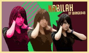 Nabilah JKT48 Abstract by SaintOfArt