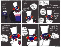Count Bleck comic by tie-dye-flag