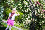 Shiemi with Roses 2 by IchigoKitty