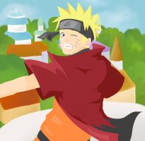 Naruto - 6th Hokage by lloviendo-amor