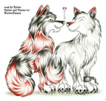 Wolfie Love by WolvenFlames