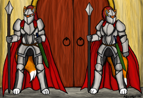 Royal Guards by Kiljunator