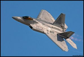 F-22 Raptor Aviation Nation 2014 by AirshowDave