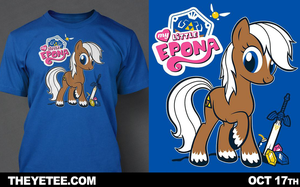My Little Epona on The Yetee by Italiux