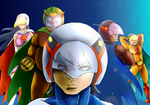 Gatchaman Team by G4RR1CK