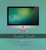 Sprinkled: Emerald Wallpaper Pack by CayaStrife