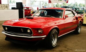 The Bad boy... Ford Mustang Mach 1 1969 by abomontage