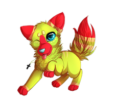 Twister chibi by LiaBorderCollie