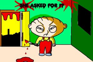 Stewie familyguy LOIS DEAD by supersonicartdrawer