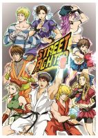 Street Fighters by amy801204