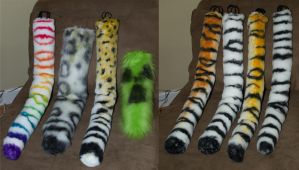 Airbrushed Tail Set 2 by Samishii-Kami